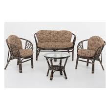 <b>Комплект для отдыха VINOTTI</b> 01/16 NEW коричневые подушки ...