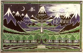 an interview janet brennan croft middle earth j r r j r r tolkien drew the cover art for the first edition of the hobbit