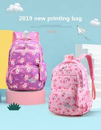 2019 New orthopaedics <b>schoolbags</b> waterproof <b>school backpacks</b> ...