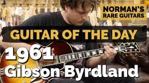 <b>Guitar</b> of the <b>Day</b>: 1961 <b>Gibson</b> Byrdland | Norman's Rare <b>Guitars</b> ...