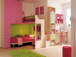 bedroom large size cream pink wooden bunk bed with sheet combined f study table on bedroom large size wonderful