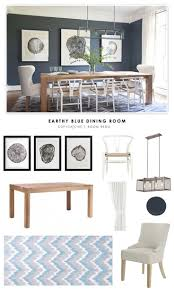 art dining room area copy cat chic room redo earthy blue dining room what do you think do