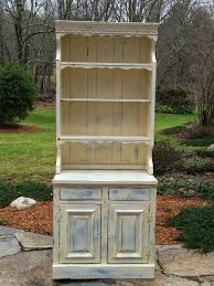 painted distressed shabby chic hutch chic shabby french style distressed