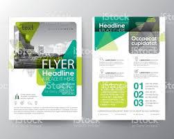 green brochure cover flyer poster design layout template stock green brochure cover flyer poster design layout template royalty stock vector art