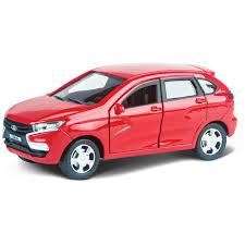 <b>Машинка</b>-<b>игрушка Autogrand</b> Lada Xray красная гражданская 1/36 ...