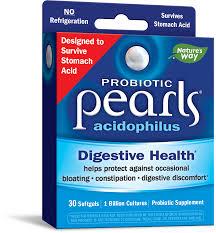 Nature's Way <b>Pearls</b>, <b>Acidophilus Probiotic</b> Softgels, 30 ct - Walmart ...