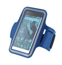 """<b>Чехол</b> для смартфона на <b>руку</b> Hold Me Tight 5,5"""", синий"""