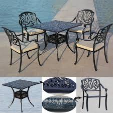 patio furniture sets aluminum heavy