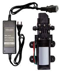 DC <b>12V</b> 80W Micro <b>Electric</b> Diaphragm Water Pump <b>High</b> Pressure ...