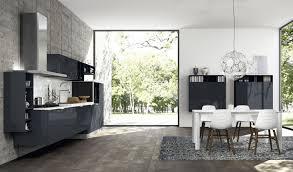 modern kitchen setup:   charcoal kitchen design
