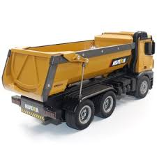 HUINA TOYS 1573 1/14 <b>2.4G</b> 10 Channel Remote Dump Truck Toy ...
