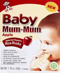 <b>Baby Mum</b>-<b>Mum Apple</b> Rice Rusks 24Ct | Hy-Vee Aisles Online ...