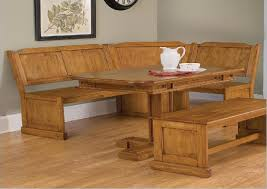 kitchen pedestal dining table set: rustic kitchen design with corner booth kitchen table set distressed oak finish rectangular pedestal dining