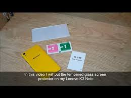 <b>Tempered glass</b> screen protector installation for smart phone ...