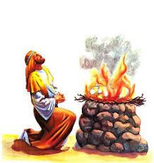 Resultado de imagem para Moisés e sacrifício