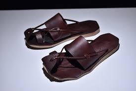 Top Quality Y3 Brown <b>Men's</b> Cowhide <b>Summer Sandals Slippers</b> ...