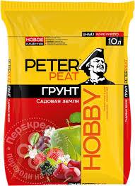 Купить <b>Грунт Peter</b> Peat Hobby Садовая земля 10л с доставкой ...