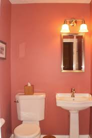 small bathroom wall color