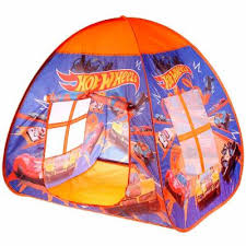 <b>Палатка</b> детская <b>игровая</b> с тоннелем Хот вилс <b>Играем вместе</b> ...