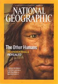 essay  neanderthal rights  payback for our ancestors     genocide of    a neanderthal model graced the cover of last september    s national geographic  which studiously avoided the word genocide to describe the clash between us