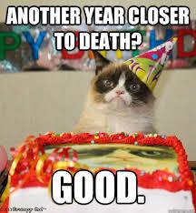 grumpy cat birthday memes   quickmeme via Relatably.com