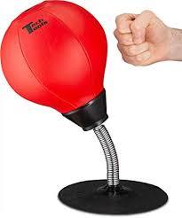 Amazon.com : Stress Buster Desktop <b>Punching</b> Ball : <b>Punching</b> Bags ...