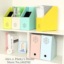 office paper holder. paper office desktop storage box file korea creative lovely book document magazine holder