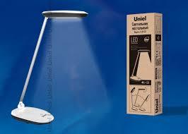 <b>Настольная лампа</b> «<b>Uniel TLD</b>-<b>531</b>» Black-White. купить в Перми ...
