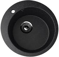 Купить <b>Мойка ULGRAN U-405-308</b> (черная) - 495 мм из литьевого ...