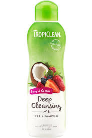 Berry & Coconut Pet <b>Shampoo</b> - <b>TropiClean</b> Pet Products for Dogs ...