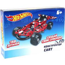<b>Конструктор 1TOY Hot</b> Wheels Buggy Т15403