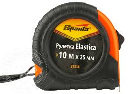 Купить <b>Рулетка Sparta</b> Elastica <b>31314</b> 25мм*10м с доставкой на ...