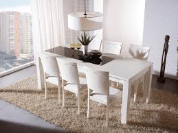 Dining Room Table And Chairs White White Dining Room Table Trellischicago