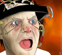 The first one for the great movie ClockWork Orange. Clockwork Orange. Client : Arte-Factos Digital Illustration. Clockwork Orange by Stanley Kubrick, 1971 - clockwork-orange