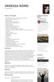 virtual assistant resume samples advertising assistant resume