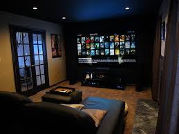 astonishing home theatre living room ideas with cream wooden captivating diy setup comfy black fabric upholstered captivating design patio ideas diy