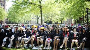 how to get into an ivy league yale s new application questions students wear creative hats during class day at yale university sunday 17