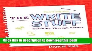 download longman academic writing series  essays to research  read the write stuff thinking through essays rd edition ebook pdf