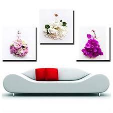 Gardenia - Creative <b>Petal Women</b> and <b>Girl</b> Dresses <b>Art</b> Canvas Wall ...