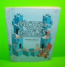 Atari <b>CRYSTAL CASTLES</b> 1983 Original Video Arcade Game 2nd ...