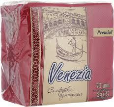 "<b>Салфетки декоративные Premial</b> ""<b>Venezia</b>"", однослойные, цвет ..."