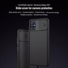 Чехол <b>Nillkin</b> для Samsung Galaxy A51, чехол Camshield из ...