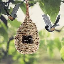 Verbena Birds Nest Natural Grass Egg Cage Outdoor ... - Amazon.com