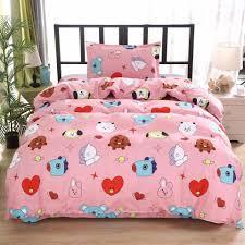 <b>Bangtan Boys BTS</b> Merch Pillowcase Pillow Case Sheets Bedroom ...