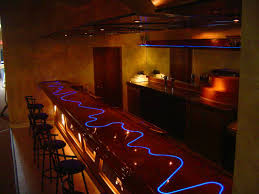 click picture to enlarge bar top lighting