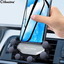 Olhveitra <b>Universal Gravity Air Vent</b> Car Phone Holder For iPhone X ...