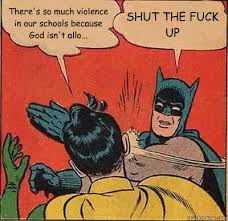 Batman Slapping Robin memes | quickmeme via Relatably.com