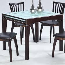 modern extending dining table grey oak