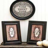 <b>Vintage Halloween</b> Embroidery Printables (With images ...