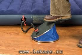 <b>Насос</b> помпа <b>ножной 32см</b> (3 насадки) 'Giant Bellows Foot <b>Pump</b> ...